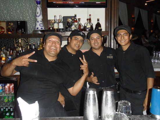 "Bahia Hotel & Beach House: ""The Boys Behind the Bar""!"