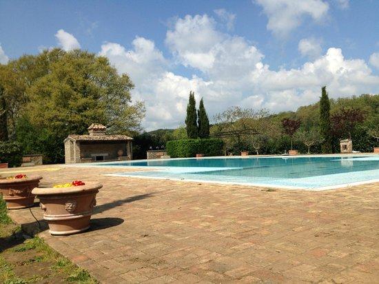 Residenza di Rocca Romana : Pool area