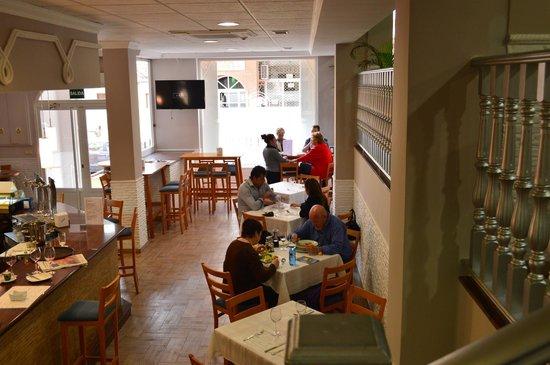 Restaurante El Rincon Gallego II : parte baja del restaurante