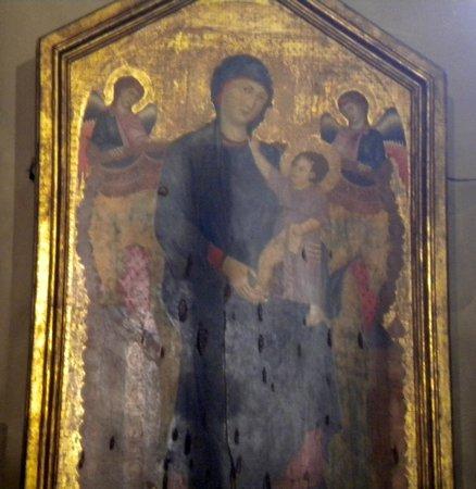 Basilica di Santa Maria dei Servi Bologna: madonna  del cimabue