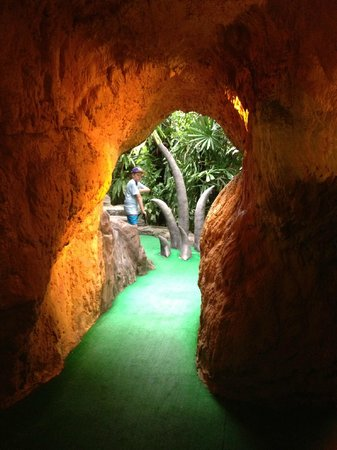 Dino Park Mini Golf : one of the holes