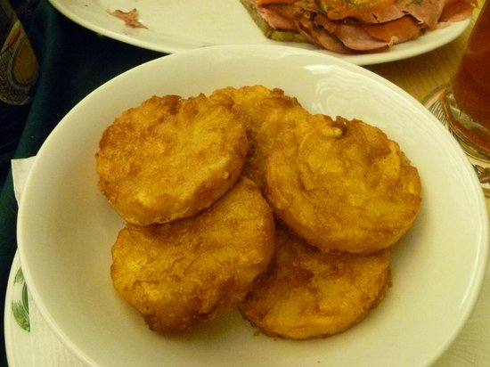 Salm Bräu: one of the side dishes