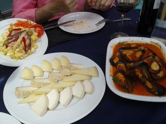 Restaurante Bar Cuesta: variado