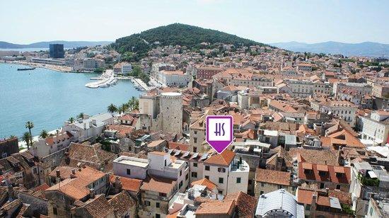 Hotel Slavija, Split, hoteles en Split
