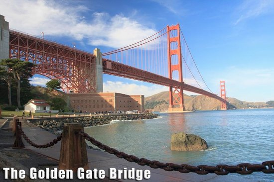 San Francisco City Guides : The Golden Gate Bridge