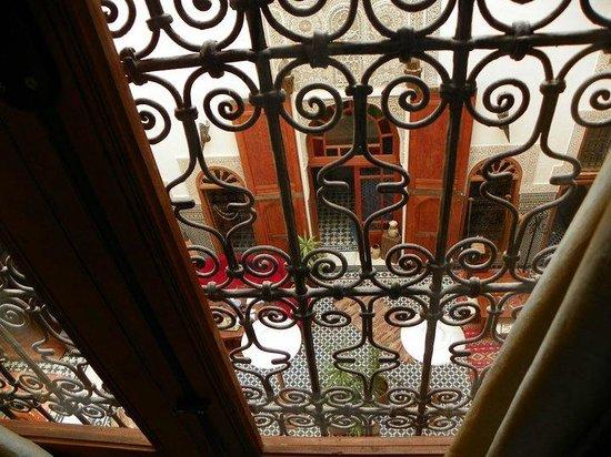 Riad La Cle de Fes: Vue depuis l'étage
