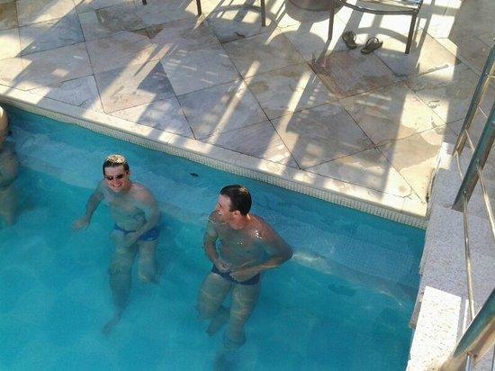 Hotel Marina Palace Rio Leblon: foto na piscina