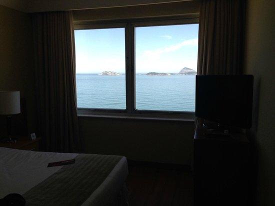 Hotel Marina Palace Rio Leblon: vista do quarto