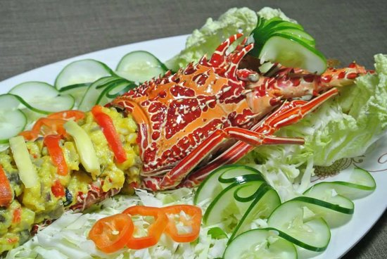 Manna STK Food House: Lobster thermidor