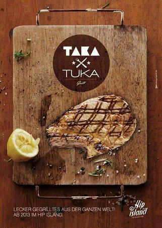 Хайльброн, Германия: TAKA TUKA Grill auf Hip Island Heilbronn!