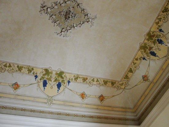 Hotel Valentino: Wunderschöne Decke