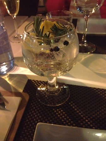 Kingfisher Restaurant: Local G&T