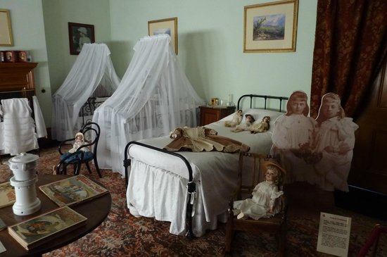 Lanhydrock House and Garden: childrens room
