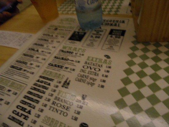 Menu Picture Of Munchie The Burger Kitchen Porto