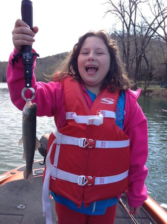 Branson Fishing Adventures : She had so much fun