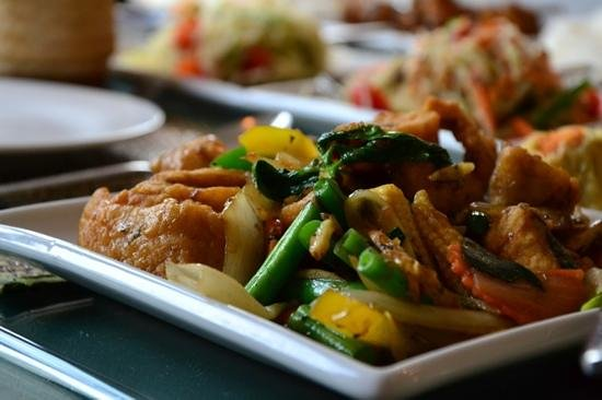 Lemon Chilli: seabass pad char