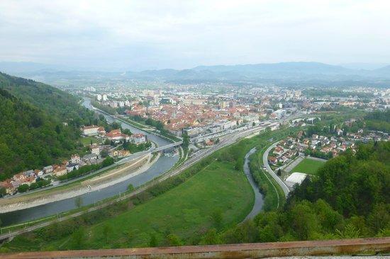 Celja from Celje Castle
