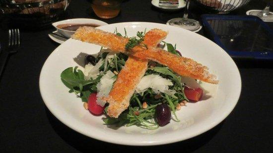 The 9th Floor: Rocket Salad (starter)
