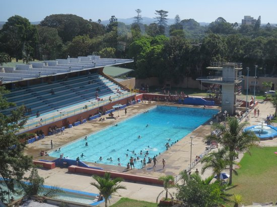 Port Elizabeth, Sudáfrica: Swimming pool in St Georges Park