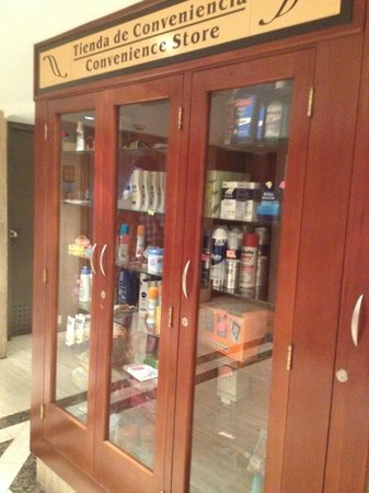Shelter Suites: Venta de objetos de aseo personal