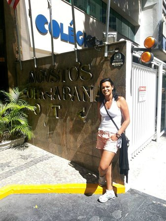 Augusto's Copacabana Hotel : Entrada