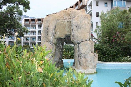 Rixos Sungate: Территория отеля
