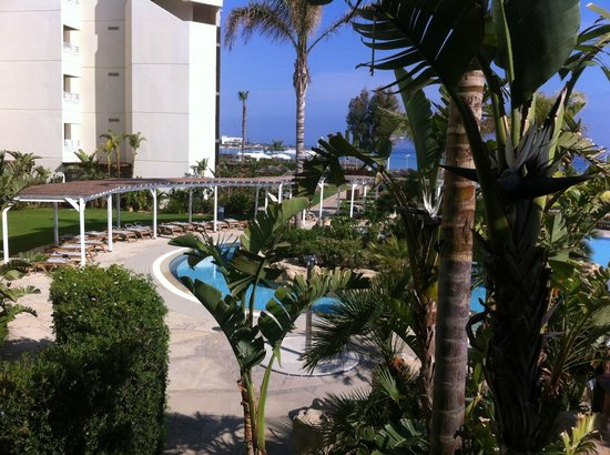 Capo Bay Hotel : View from dining terrace