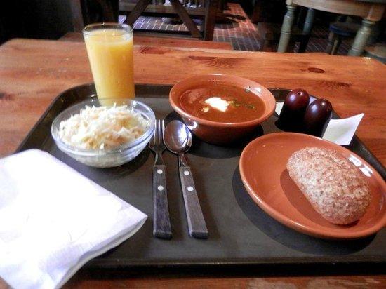 Lido Alus Seta: Обед в Лидо
