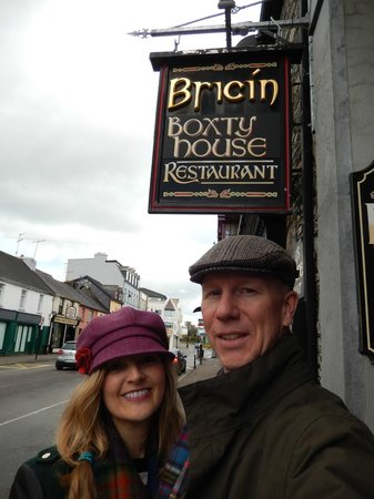 Bricin Restaurant: Our favorite Irish restaurant!