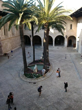 Palau de l'Almudaina : Patio Interior