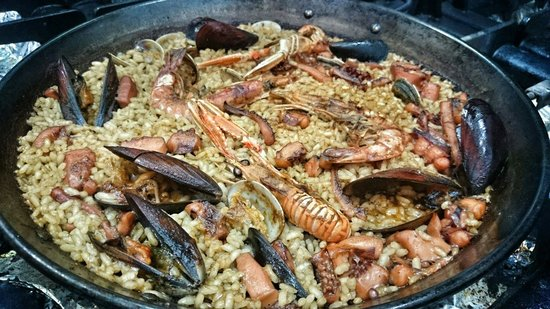 Restaurant America : Fisherman paella!!!!!