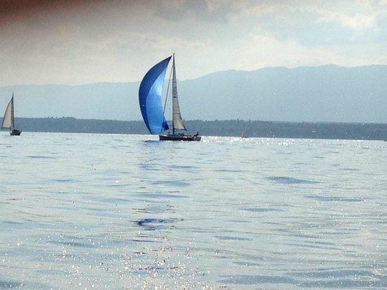 Lac Léman (Lac de Genève) : Женева озеро