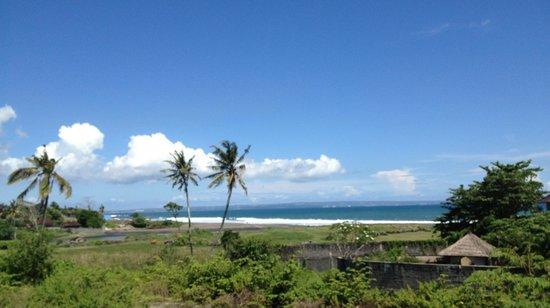 Lautan Kupu - Kupu Villas: View from balcony - where I had a foot massage. Bliss!