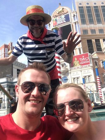Gondola Rides at the Venetian : Gondola's at the Venitian