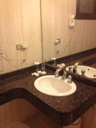 Shelter Suites: Baño habitacion