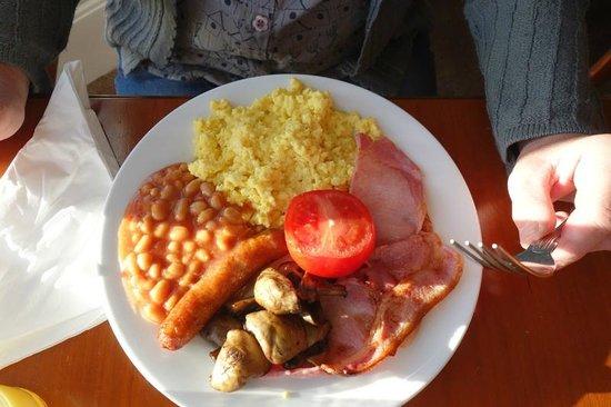 Ellan Vannin Metro Hotel: English breakfast