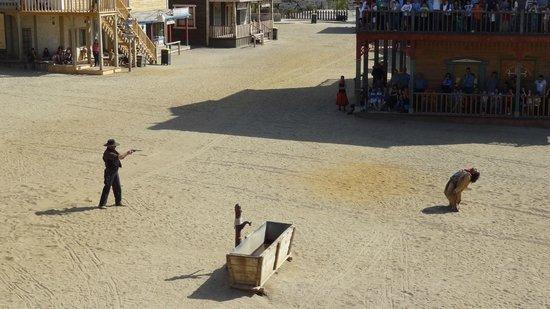 Oasys Mini Hollywood: espectáculo vaqueros