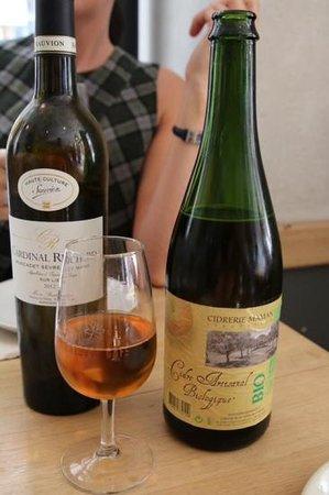 Galette Café : Organic Artisanal Cider
