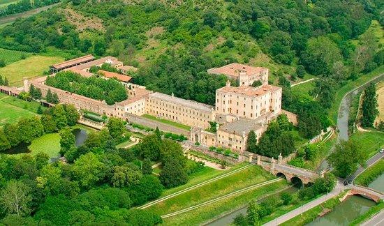Battaglia Terme, Italy: Veduta dall'alto
