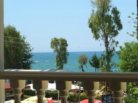 Hotel Villa Berk: THE SEA VIEW FROM ROOM