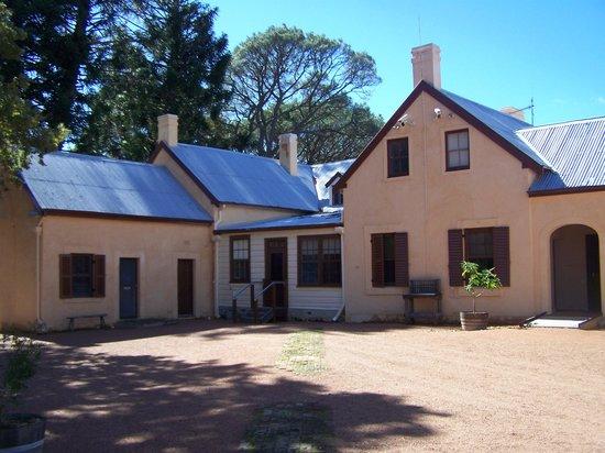 Lanyon Homestead: back of homestead