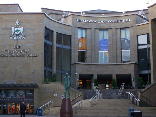 The Glasgow Royal Concert Hall: concert hall