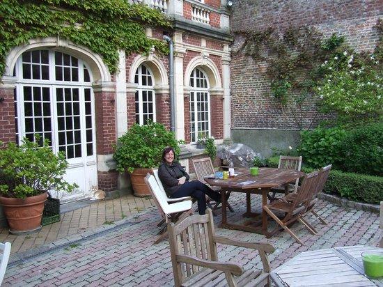 La Maison de Paul B : tuin