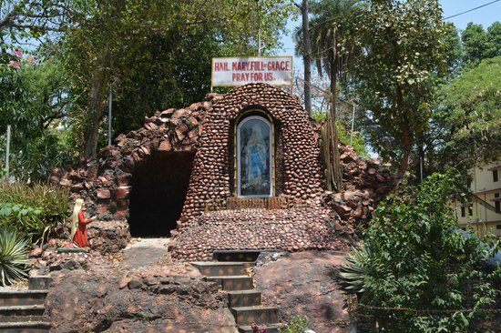 Grotto of Mother Mary Picture of St Judes Shrine