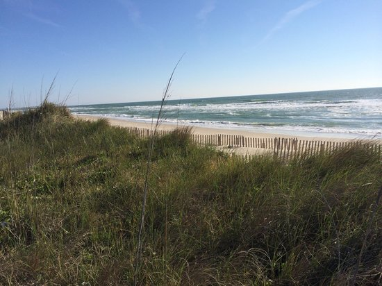 Cape Hatteras KOA Resort: View from the dunes