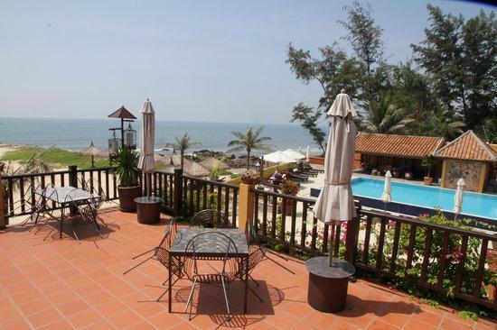 Poshanu Resort : View from the restaurant