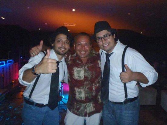 Hard Rock Hotel Panama Megapolis: Que buena banda.