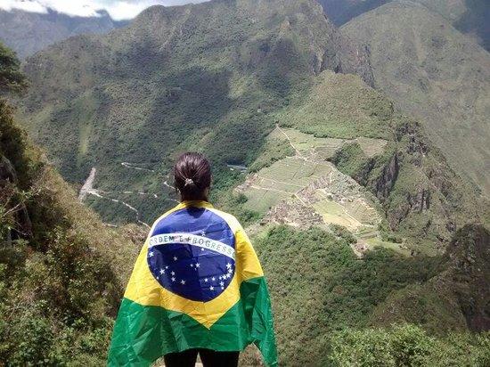 Huayna Picchu : Brazil represents