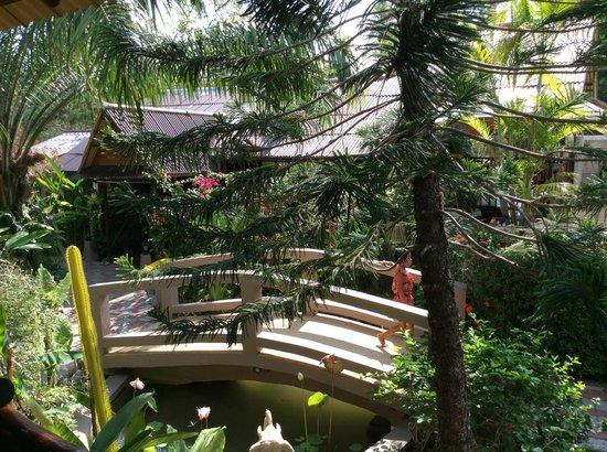 Baan Sukreep - Zen Garden Cottages : jardin