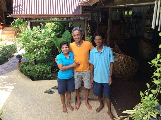 Baan Sukreep - Zen Garden Cottages: l'équipe